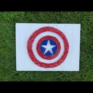 Captain America wall decor